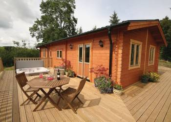 Pant Glas Farm Lodges