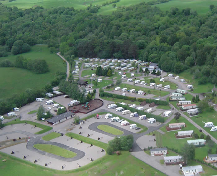 Grantown-On-Spey Caravan Park, Grantown On Spey,Highlands,Scotland