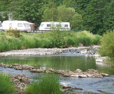 Riverside Caravan Park, Hawick,Borders,Scotland