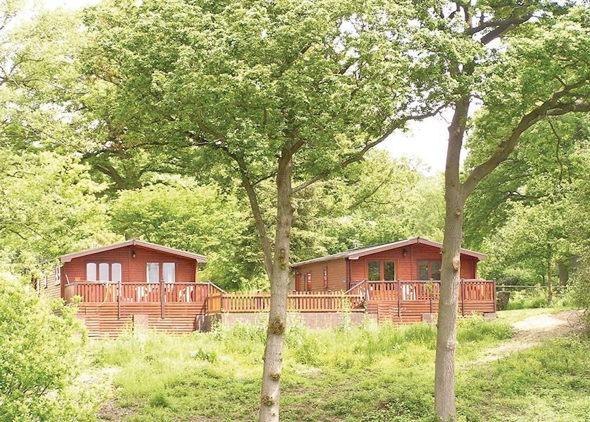 Pine Lodges At Arscott Golf Club, Shrewsbury,Shropshire,England