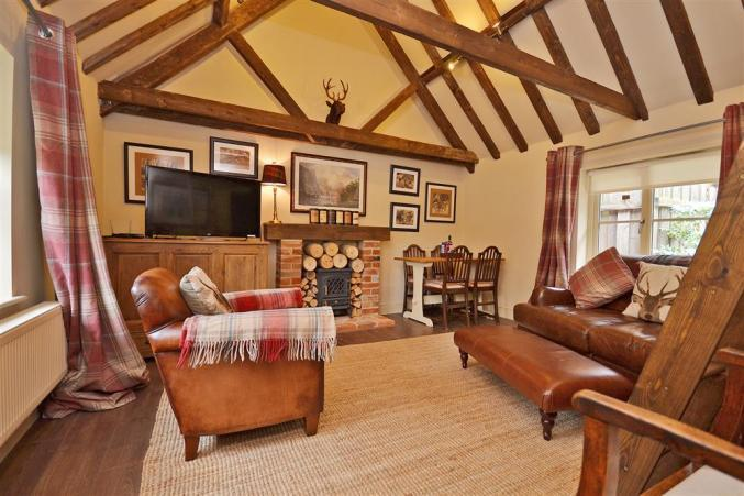 Bridge End Barn a british holiday cottage for 4 in ,