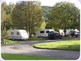 Cannich Caravan and Camping Park, Strathglass,Highlands,Scotland